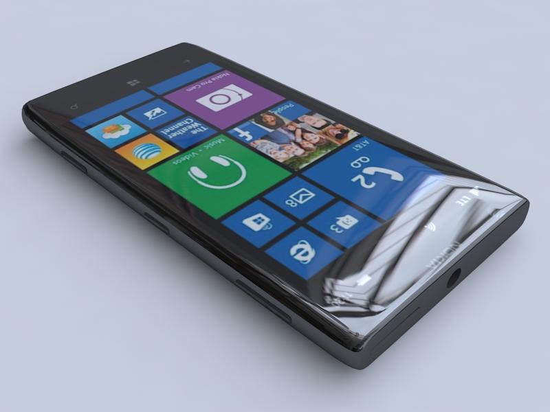 nokia lumia 1020 3d model 3ds max fbx obj 156739