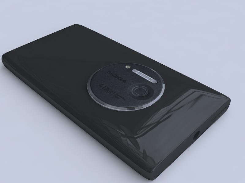 nokia lumia 1020 3d model 3ds max fbx obj 156740