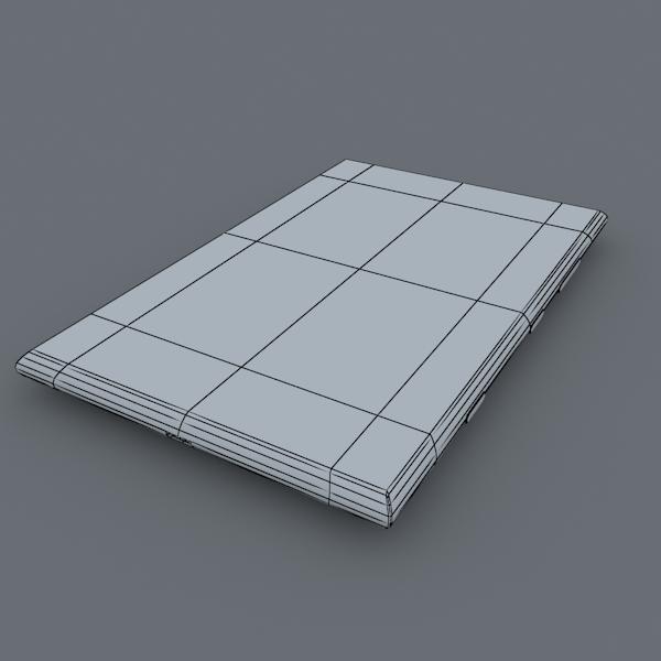 nokia lumia 1520 bijela 3d model max fbx c4d lxo ma mb obj 158427