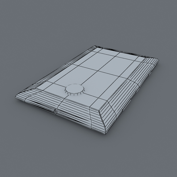 nokia lumia 1520 white 3d model max fbx c4d lxo ma mb obj 158428