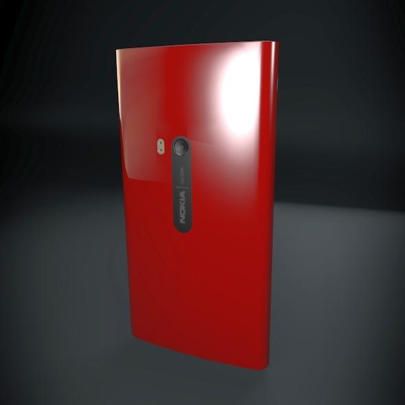 nokia lumia 920 smartphone 3d model fbx blend dae 3dm obj 156889