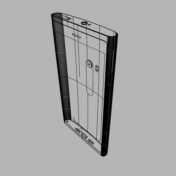 nokia lumia 920 smartphone 3d model fbx blend dae 3dm obj 156894