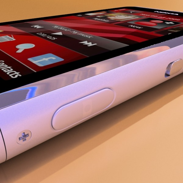nokia n 8 high detail 3d model 3ds max fbx obj 129743