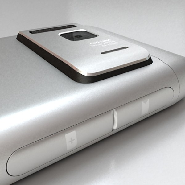 nokia n 8 high detail 3d model 3ds max fbx obj 129753