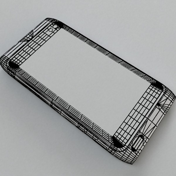 nokia n 8 high detail 3d model 3ds max fbx obj 129754