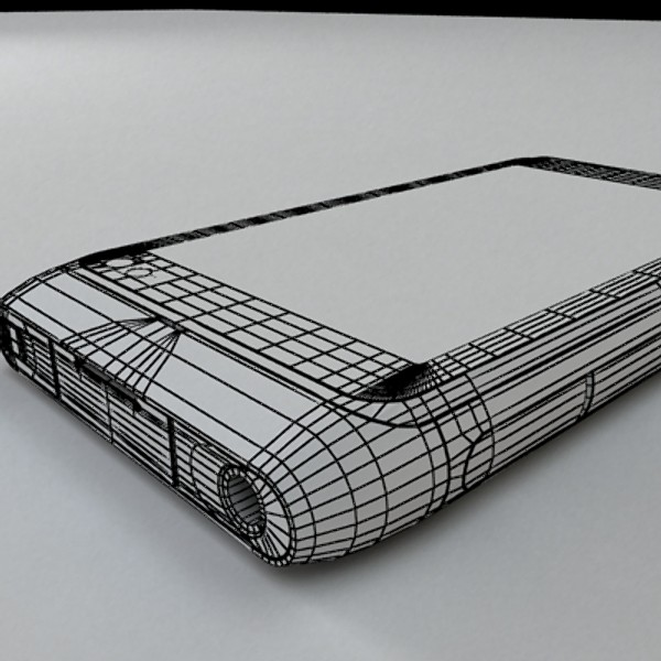 nokia n 8 high detail 3d model 3ds max fbx obj 129755