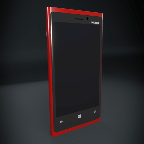 Nokia Lumia 920 smartphone ( 73.14KB jpg by futurex3d )