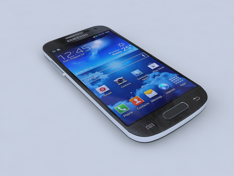 samsung i9190 galaxy s4 mini 3d model 3ds max obj 156743