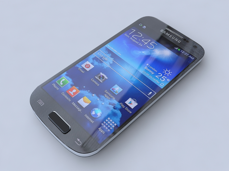 samsung i9190 galaxy s4 mini 3d model 3ds max obj 156744