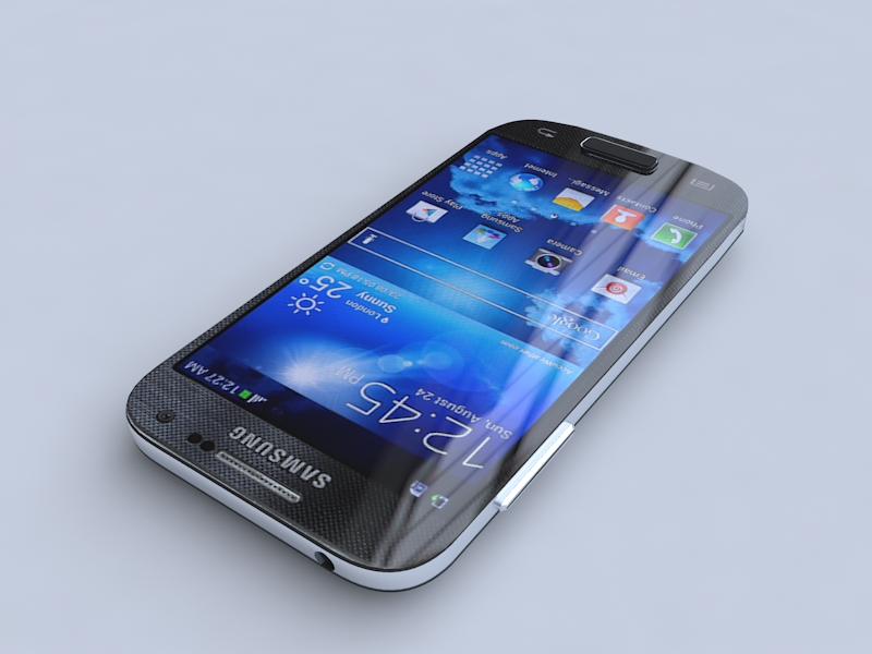 samsung i9190 galaxy s4 mini 3d model 3ds max obj 156745