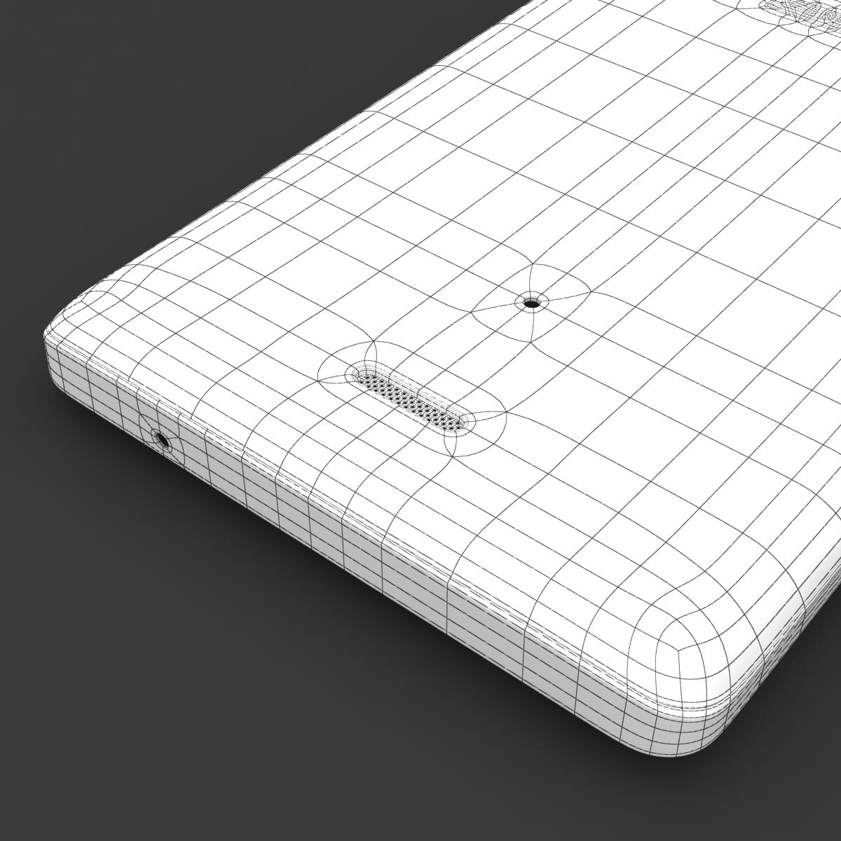 sony xperia v 3d model 3ds max fbx c4d lwo obj 151208