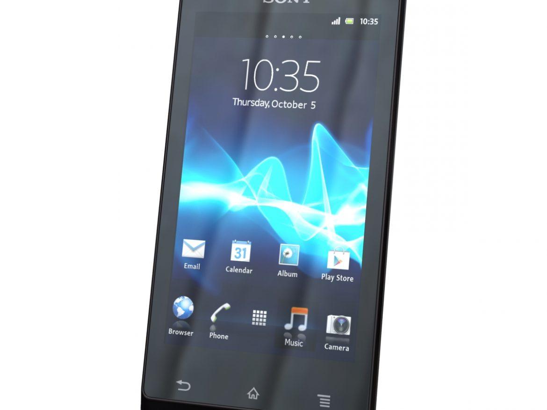 Sony Xperia J ( 293.66KB jpg by 3dtoss )