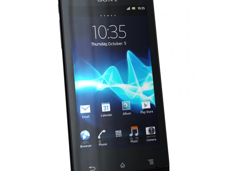 Sony Xperia J ( 290.21KB jpg by 3dtoss )