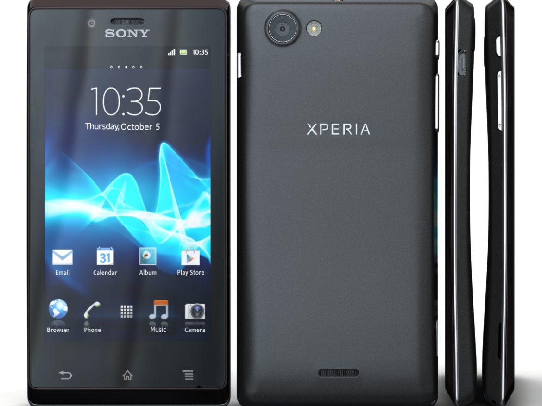 Sony Xperia J ( 554.1KB jpg by 3dtoss )