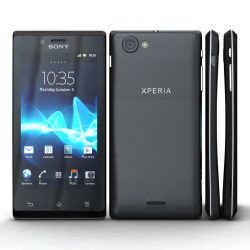 Sony Xperia J ( 554.1KB jpg by 3dtoss )