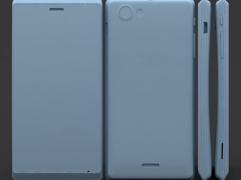Sony Xperia J ( 368.72KB jpg by 3dtoss )