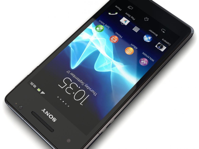 Sony Xperia V ( 365.68KB jpg by 3dtoss )