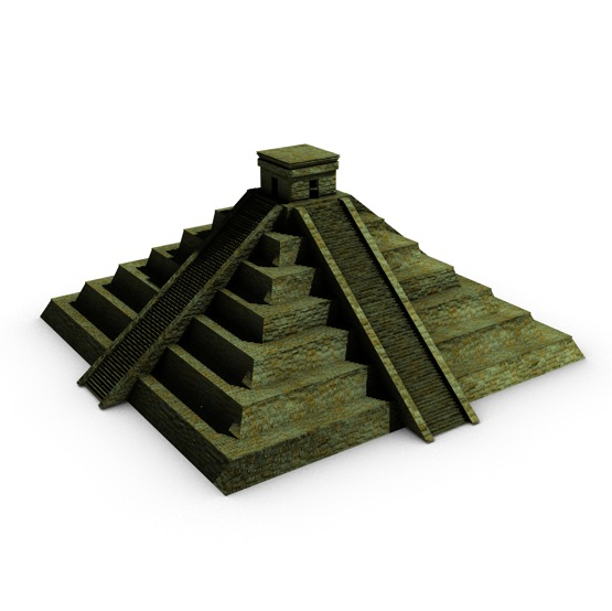 ancient pyramid 3d model 3ds max fbx c4d obj 138598