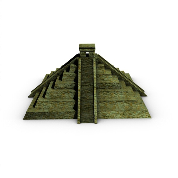 ancient pyramid 3d model 3ds max fbx c4d obj 138599