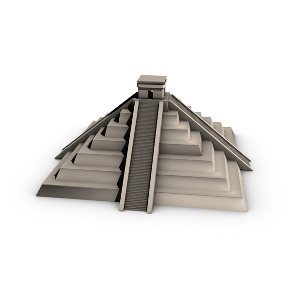 ancient pyramid 3d model 3ds max fbx c4d obj 138602