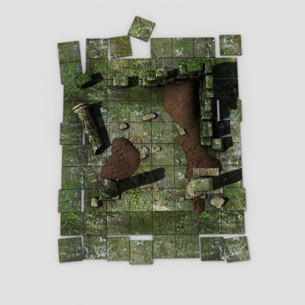 ancient ruins 3d model 3ds max fbx c4d obj 138679