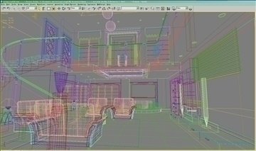 living room720 3d model 3ds max 95450