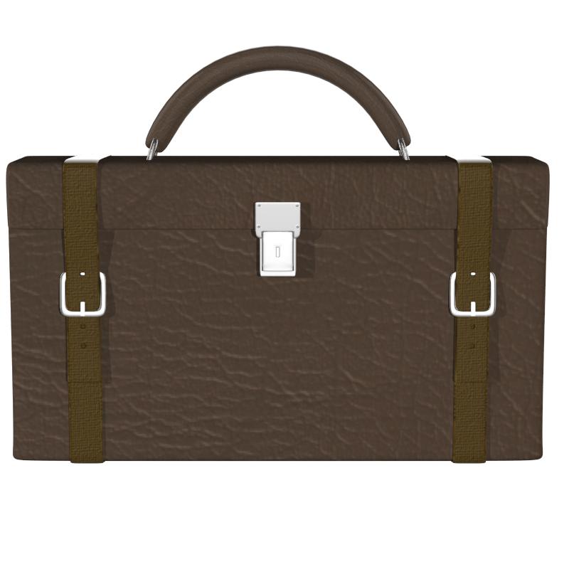 briefcase 3d model obj 147549