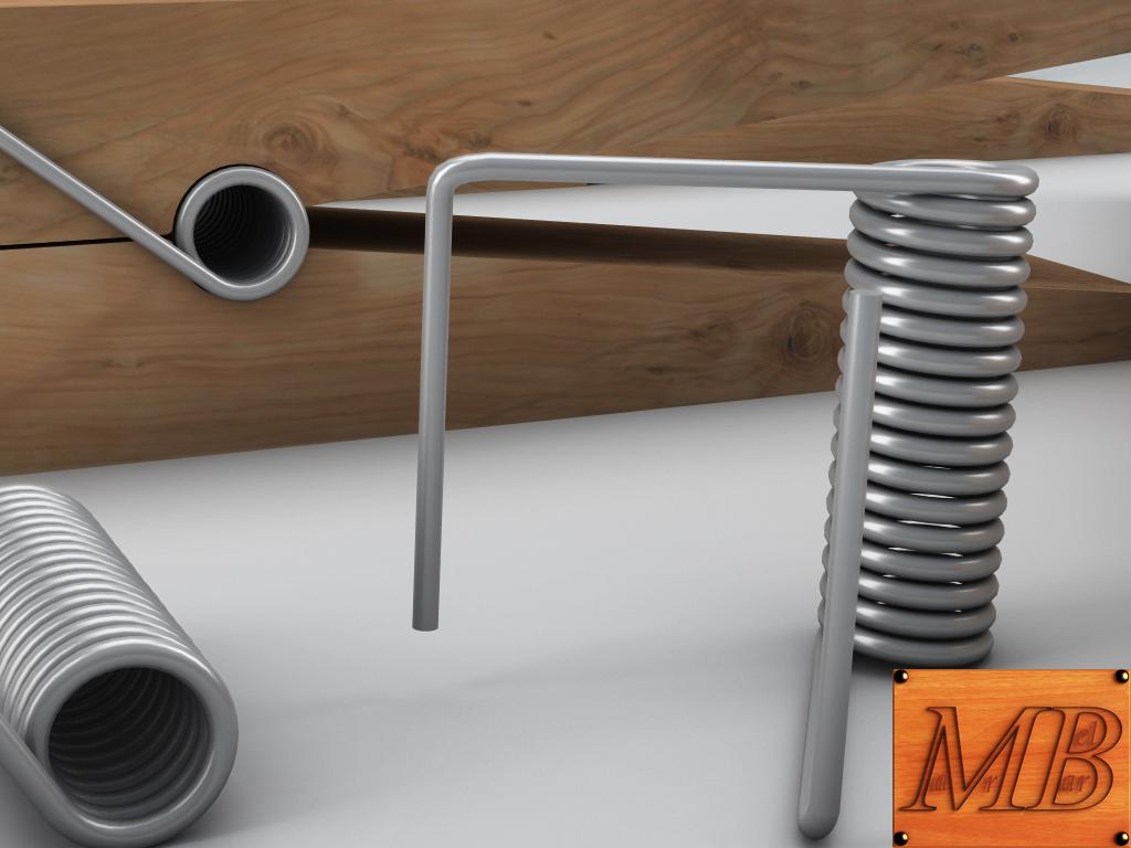 clothespin 3d model 3ds max fbx c4d dae obj 156243