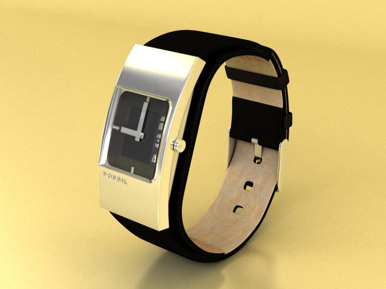 fosilā pulksteņa sieviešu 3d modelis max 155046