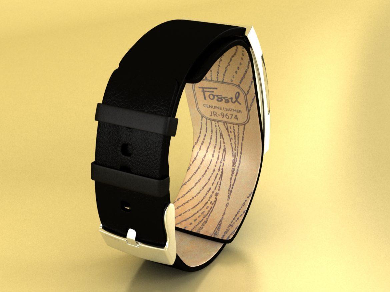 fosilā pulksteņa sieviešu 3d modelis max 155048