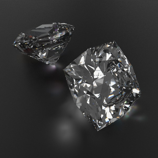 special cut gem collection 3d model fbx blend obj 149695