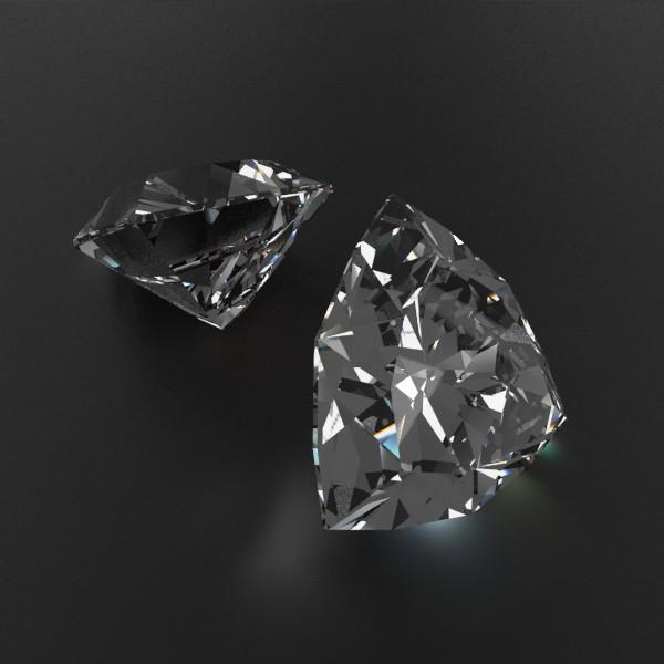 special cut gem collection 3d model fbx blend obj 149699