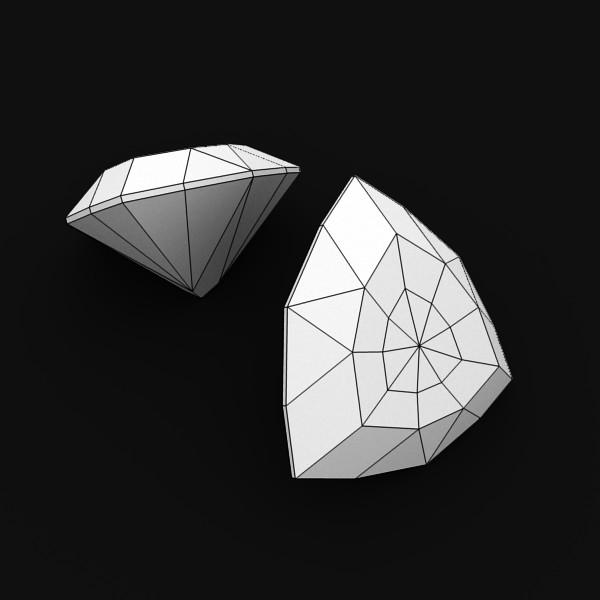 special cut gem collection 3d model fbx blend obj 149700