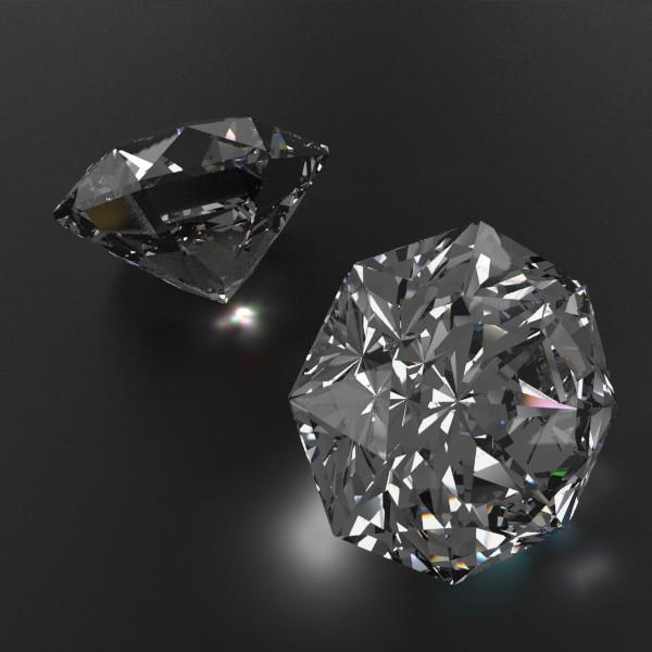 special cut gem collection 3d model fbx blend obj 149705