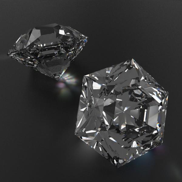 special cut gem collection 3d model fbx blend obj 149707