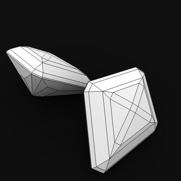 special cut gem collection 3d model fbx blend obj 149712