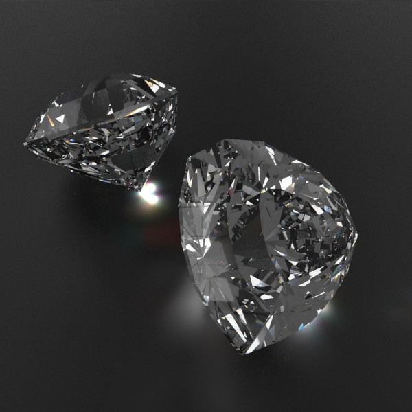 special cut gem collection 3d model fbx blend obj 149713