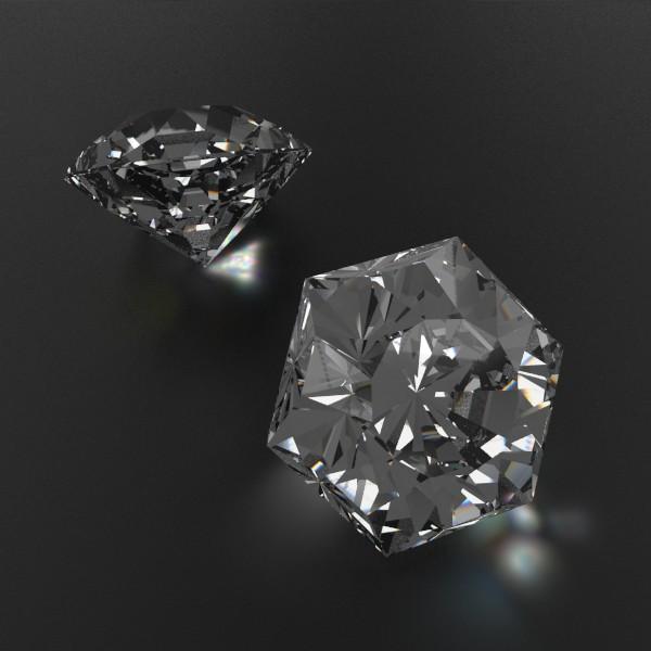 special cut gem collection 3d model fbx blend obj 149715