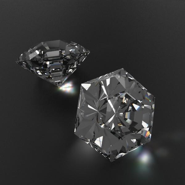 special cut gem collection 3d model fbx blend obj 149717