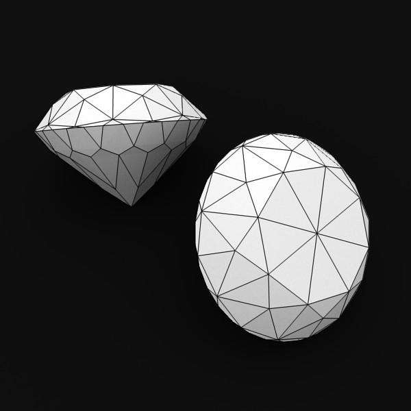 special cut gem collection 3d model fbx blend obj 149720