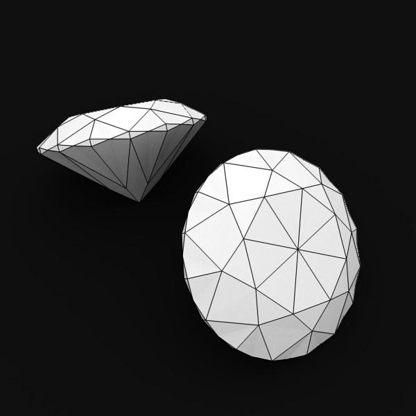special cut gem collection 3d model fbx blend obj 149722