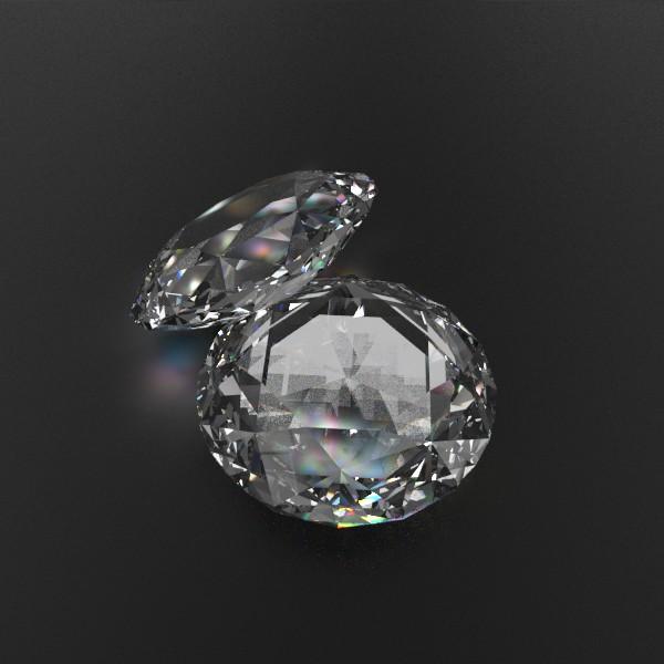 special cut gem collection 3d model fbx blend obj 149723