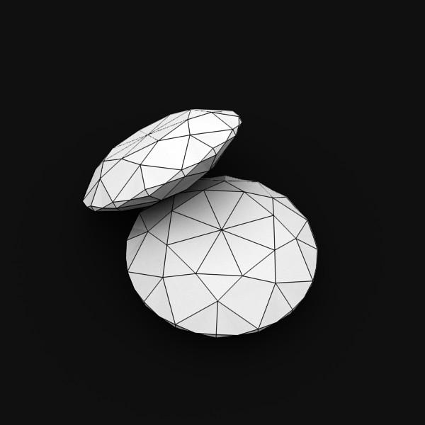 special cut gem collection 3d model fbx blend obj 149724