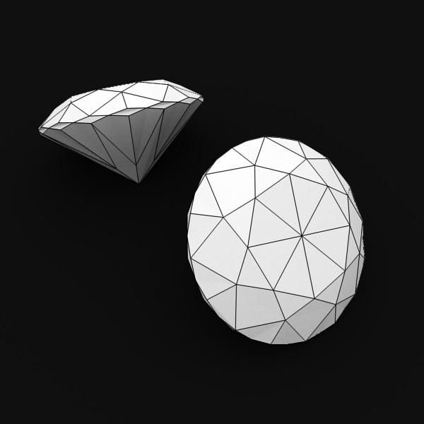 special cut gem collection 3d model fbx blend obj 149726