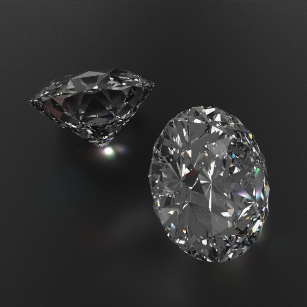 special cut gem collection 3d model fbx blend obj 149727