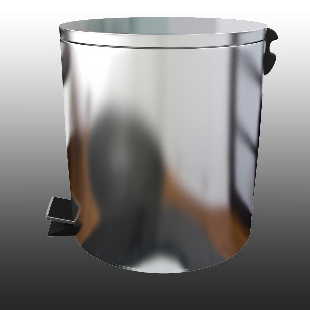 bathroom dumpster 3d model 3ds max fbx ma mb obj 155982