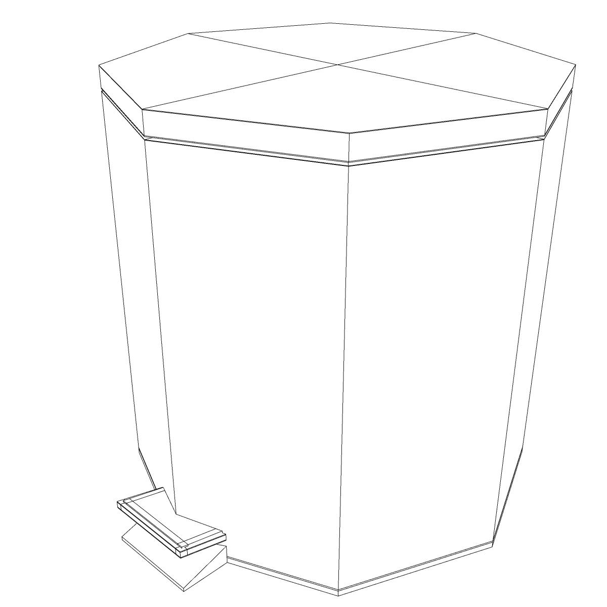 bathroom dumpster 3d model 3ds max fbx ma mb obj 155984