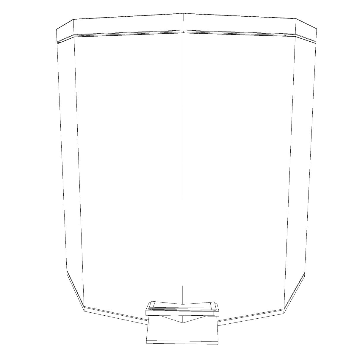 bathroom dumpster 3d model 3ds max fbx ma mb obj 155985