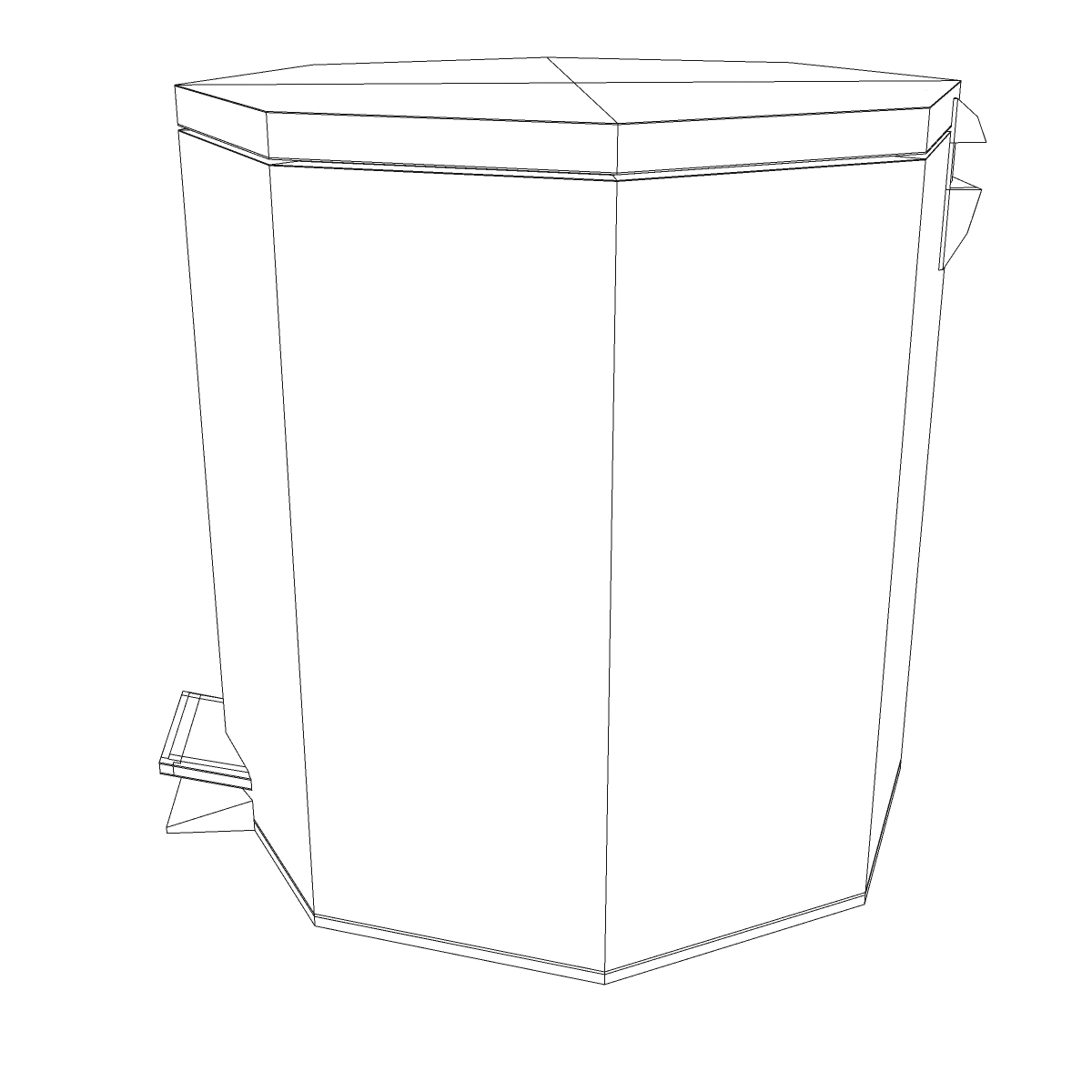 bathroom dumpster 3d model 3ds max fbx ma mb obj 155987