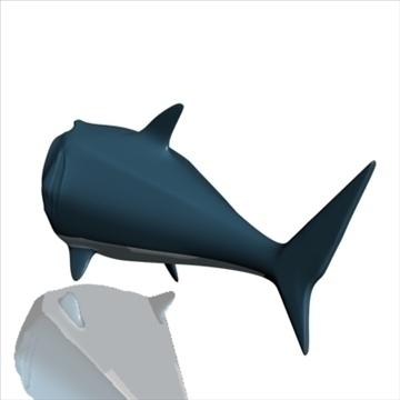 hungry shark 3d model 3ds max obj 103684
